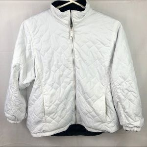 Free Country Sz 3X Women's Reversible Coat White